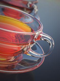 Model, Texture, and Light A Tea Cup Scene In Cinema 4D - Greyscalegorilla Blog