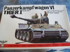 1970's Bandai 1/48 Scale Panzerkampfwagen VI Tiger I Sd. Kfz. 181 Model by MyHillbillyWays on Etsy