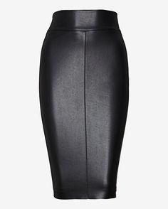 Bailey 44 EXCLUSIVE Leather Like Pencil Skirt