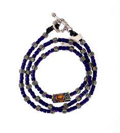 Striped Chevron, Venetian Millefiori #1330 | Chains | Jewelry — DecoArtAfrica.com