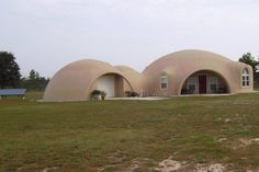 The Watts Monolithic Dome Home — Harrilyn and Rudy built their dome home 21 miles south of Chipley, Florida in tornado country.