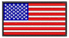 """Get ready for the 4th of July with our Independence Day embroidery designs! Check out """"American Flag"""" embroidery design! Up to 40% off!!"""