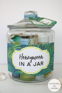 Honeymoon in a Jar | Yesterday On Tuesday #fillmorejars #heritagehill
