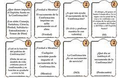 Juego los siete sacramentos.preguntas confirmacion 2 La samaritana, juegos de nueva evangelizacion