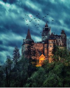 Dracula Castle , Romania Photo by @kyrenian