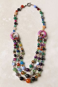 Multi-colored necklace (anthropologie)