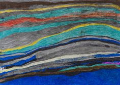 Joseph Lambert    Untitled  , 2014 Mixed media on paper 18.11 x 25.2 inches 46 x 64 cm JLam 5