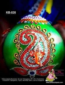 Order Designer Kobbari bondam online from Pellipoolajada