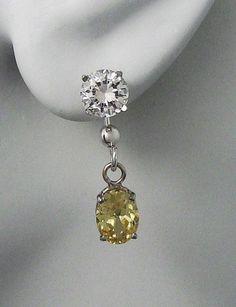 Earring Jackets For Studs 14k White Gold Dangling By Earcuffs 169 00 Earrings