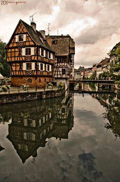 Alsacian Architecture - Strasbourg, Petite France (Lorraine et Alsace)