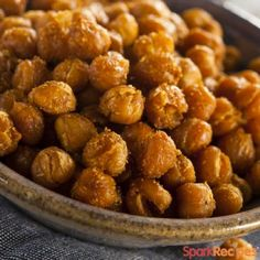 Easy, delicious and healthy Roasted Chickpeas (Garbanzo Beans) recipe from SparkRecipes. See our top-rated recipes for Roasted Chickpeas (Garbanzo Beans).