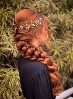 Party Hairstyles, Cute Hairstyles, Braided Hairstyles, Wedding Hairstyles, Hair Inspo, Hair Inspiration, Mode Harry Potter, Natural Hair Styles, Long Hair Styles