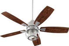 Quorum International Galveston Galvanized One Light 52 Inch Patio Fan 13525 9 Hunter Douglas, Outdoor Ceiling Fans, Outdoor Lighting, Patio Fan, Lamp Bases, One Light, Wall Lights, Bulb, Blade