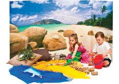 Beach Discovery Background. These massive Australian Geographic backgrounds set the perfect scene.