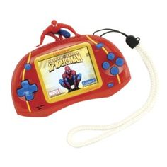 105 games, 100% Spiderman fun! http://www.mytoys.com/LEXIBOOK-Spider-Man-Games-Console-Cyber-Arcade-TV-with-105-Games/Spiderman-Merchandise/Spiderman/KID/com-mt.lc.lc01.54.02/2013204