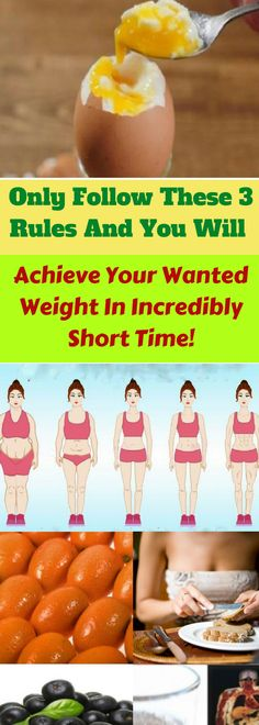 Image result for Only Follow These 4 Rules And You Will Achieve Your Wanted Weight In Incredibly Short Time!
