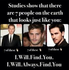 And 7 men that look like ROBERT CARLYLE!!! I WILL ALWAYS FIND YOU