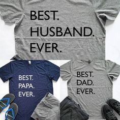 Father's Day is next month and these tee's make super great gifts for dad's and grandpa's! Only $17 shipped! ad