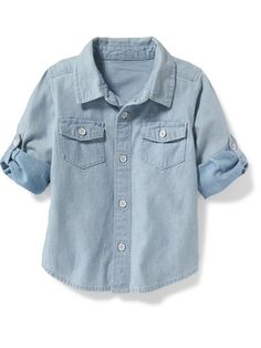Chambray Pocket Shirt for Toddler | Old Navy