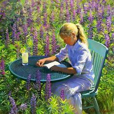 Reading and Art: Jeffrey T. Larson