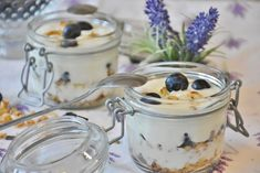 """Low Histamine Breakfast """"Yogurt"""" Parfait Recipe (also Low Oxalate, Low Lectin, Low Carb) Camping Food Make Ahead, Camping Meals, Dehydrator Recipes, Food Processor Recipes, Yogurt Substitute, Low Histamine Foods, Almond Yogurt, Greek Yogurt, Fruit Yogurt"""