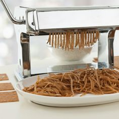Ever wonder how to make whole wheat pasta from scratch? Try out this delicious recipe.