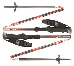 Whether your mission is a long trek toting a heavy pack or getting a few powder laps touring in the backcountry, the Black Diamond Ultra Mountain Carbon pole combines lightweight, 100% carbon fiber construction and Z-Pole compactability into the u...