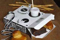 Donut and coffee box