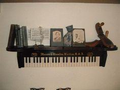 Old organ part shelf