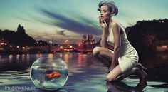 Beauty lady with gold fish by conrado, via Shutterstock Best Free Wordpress Themes, Online Journal, New Age, Goldfish, Reiki, Mercury, Hd Wallpaper, Wallpapers, Photo Editing
