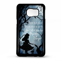 Alice in wonderland mad hatter quote by LikeYourFaceCases on Etsy