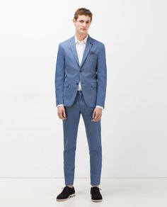 Image 1 of TEXTURED SUIT from Zara