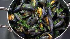 """Résultat de recherche d'images pour """"recette moules marinières"""""""