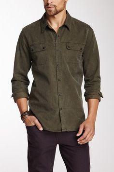 Relax Cotton Blend Double Pocket Shirt by Joe's Jeans Men on @HauteLook USD 59