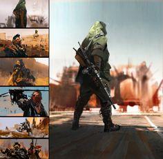 Mad Max by jamajurabaev on DeviantArt Arte Sci Fi, Sci Fi Art, Mad Max, Norman Rockwell, Jama Jurabaev, Color Script, Concept Art World, Brave, Cg Art