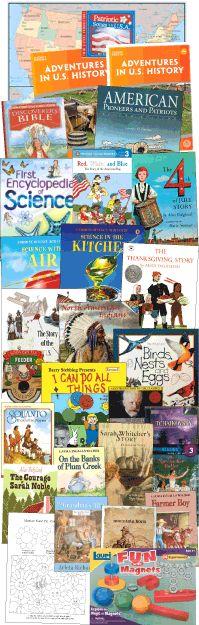 My Father's World Homeschool Curriculum - Grades 2 - 8 Adventures in U.S. History Looks interesting.
