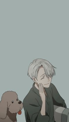 Read Cats from the story Yuri! On Ice TEXTS by starmoons (☁︎ Ha-Min ☁︎) with 290 reads. Yurio: biTCh wHErE Otabek: cat. Wallpaper W, Wallpaper Animes, Cute Anime Wallpaper, Animes Wallpapers, Cute Wallpapers, Anime Guys, Manga Anime, Anime Art, Tamako Love Story