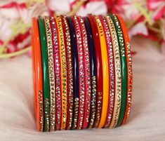 Bridal Bangles, Make Time, Stone, Detail, Numbers, Delivery, India, Color, Design