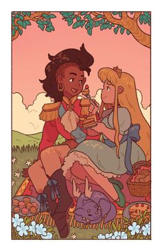 Amira and Sadie are 2 very different princesses who decide to take their happily ever after into their own hands | Strangely Katie