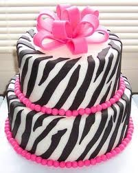 Zebra Birthday Cake Ideas For Girls - Happy Birthday Cake Design Pink Zebra Cakes, Zebra Birthday Cakes, Birthday Cake Girls, 13th Birthday, Birthday Ideas, Purple Zebra, Happy Birthday, White Zebra, Princess Birthday