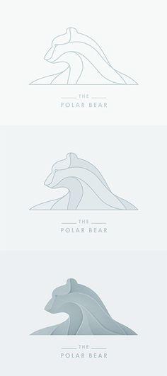 The polar bear #logo step