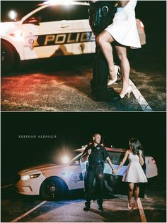 Super funny for gender swap. Guy does the bent leg on the female officer. Me and my man someday! Cute Photography, Engagement Photography, Wedding Photography, Engagement Session, Police Wife Life, Police Girlfriend, Police Family, Wedding Couple Photos, Cute Couple Pictures