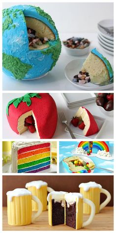 So cute! Best surprise cakes