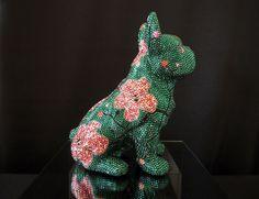 Dinosaur Stuffed Animal, Animals, Pink, Bulldog Breeds, Handmade, Kunst, Animales, Animaux, Animal