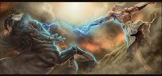 battle of the greek gods - Google Search
