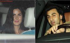 Ranbir Kapoor, Katrina Kaif attend Karan Johar's birthday bash. Will KJo bring the two exes together? See photos