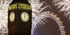 Fireworks & Big Ben.