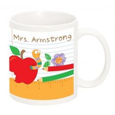 Teachers Desk Mug - Personalised Mugs - Home - Personalised Gifts   Buy Online with Identity Direct Australia