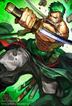 Zoro by JimboBox on DeviantArt