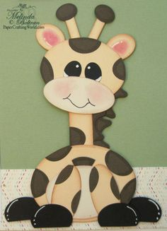 Giraffe made with dies but could be punched